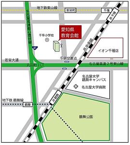 愛知県教育会館地図