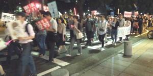 パレード 9/18 栄広場から