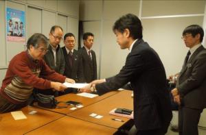 県への申し入れ 2/17 愛知県庁
